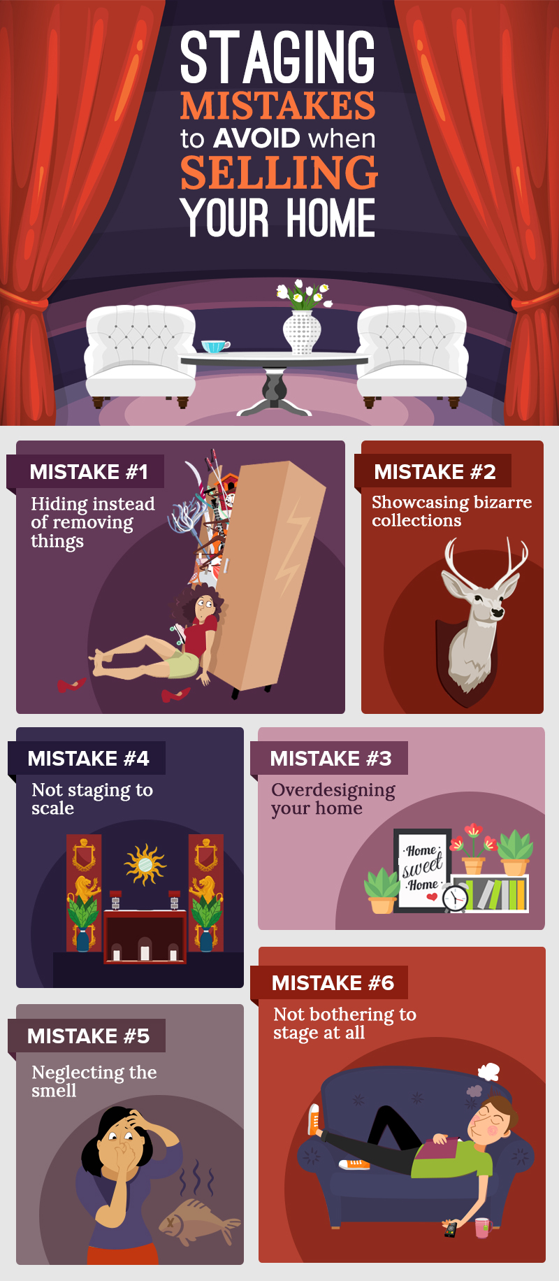 6 Staging Mistakes To Avoid When Selling Your Home