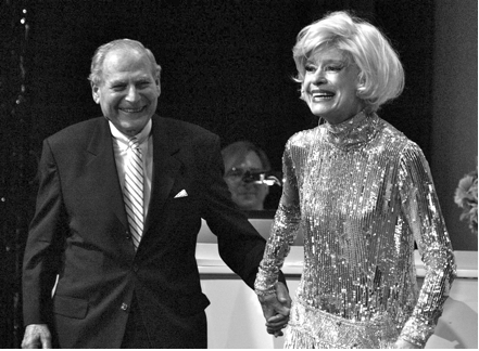 Harry  Kullijian, Carol Channing