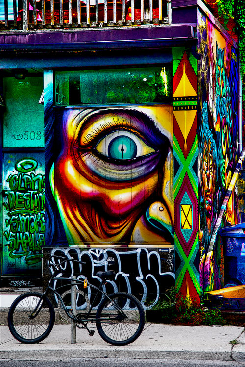 Original Work Collection 4 - Toronto Graffiti