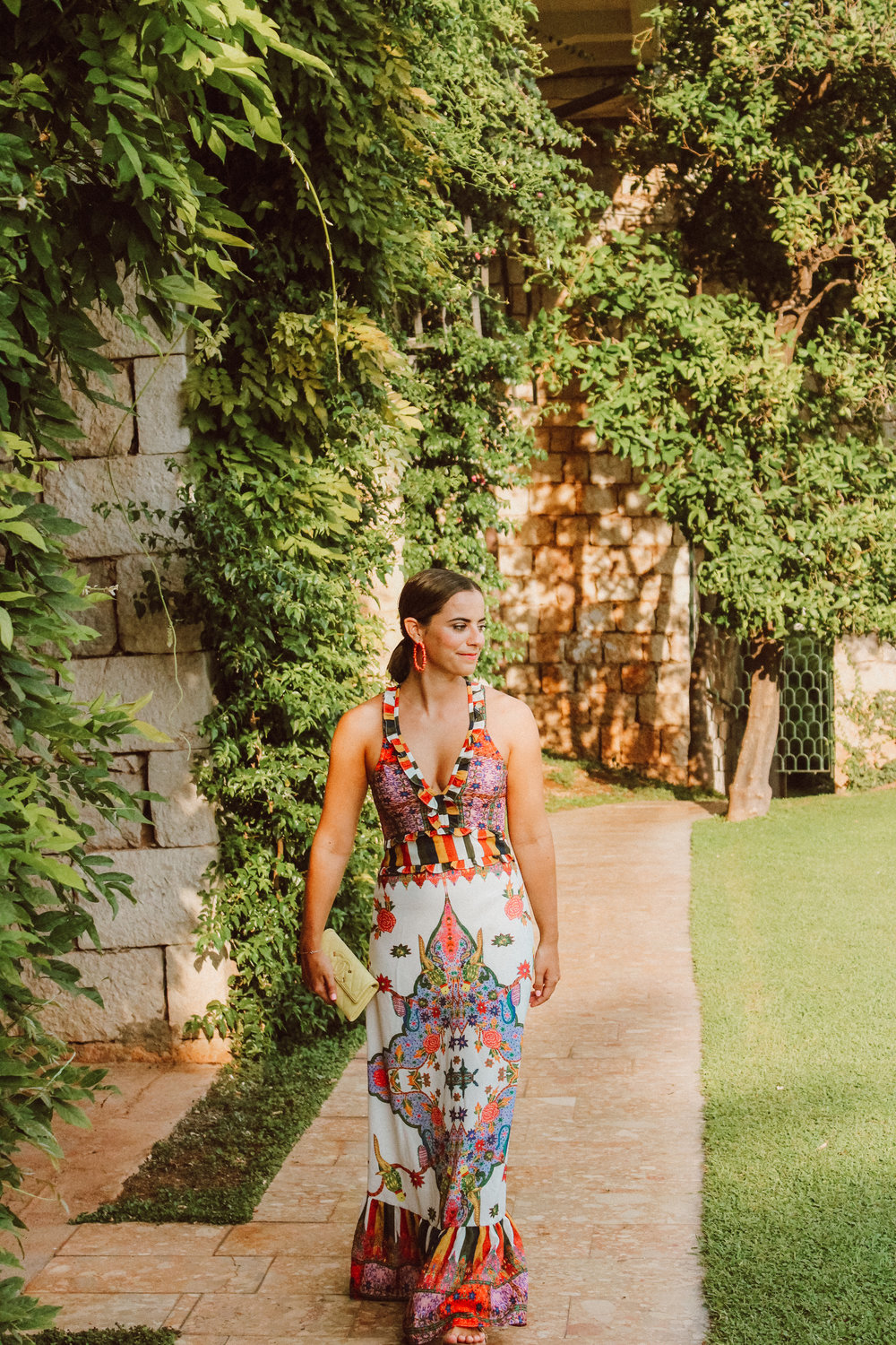 A Colorful Maxi Dress in Croatia - With Love and Liv