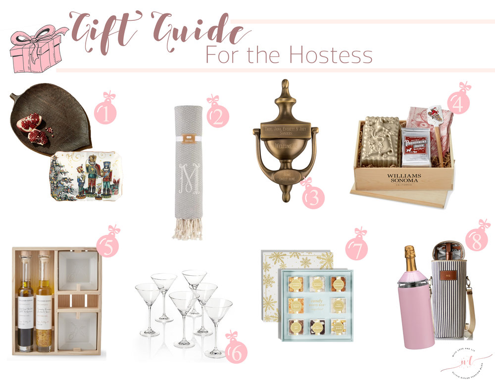 Gift Guide for the Hostess - With Love and Liv