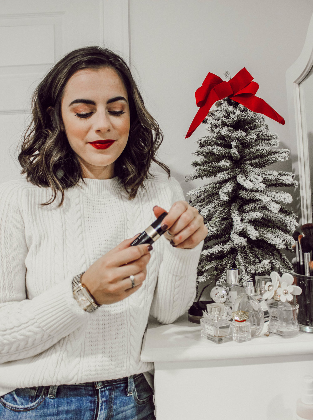 Easy Holiday Makeup Look - With Love and Liv