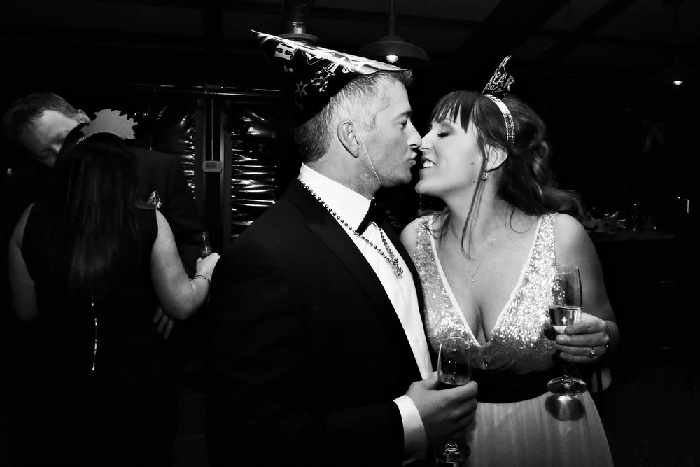 Downtown Denver New Year's Eve Wedding by Destination Wedding Photographer Lindsay Collette