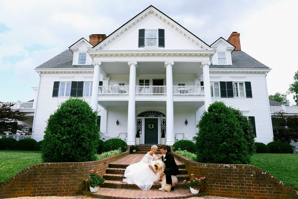 Historical Inn at Warner Hall Timeless Southern Wedding Photography.jpg