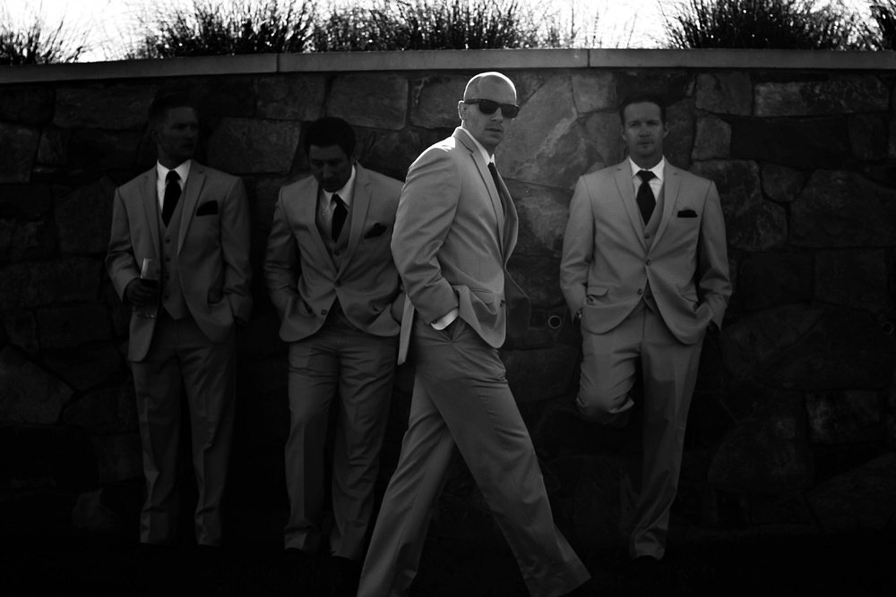 Madison VA Vineyard Groomsmen