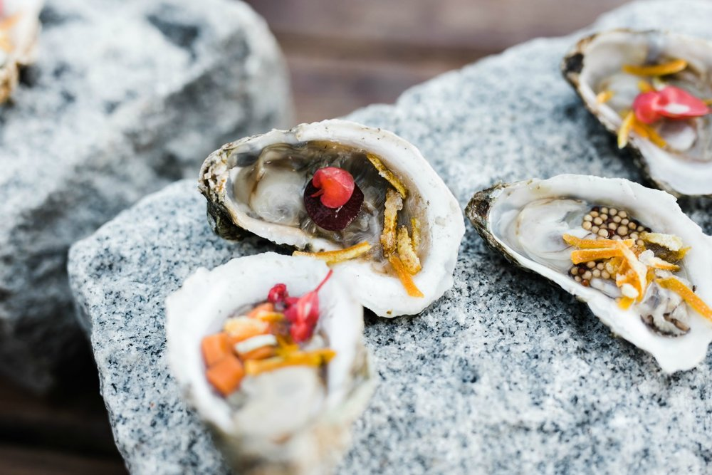 New Ways to Serve Oysters at Weddings & Events