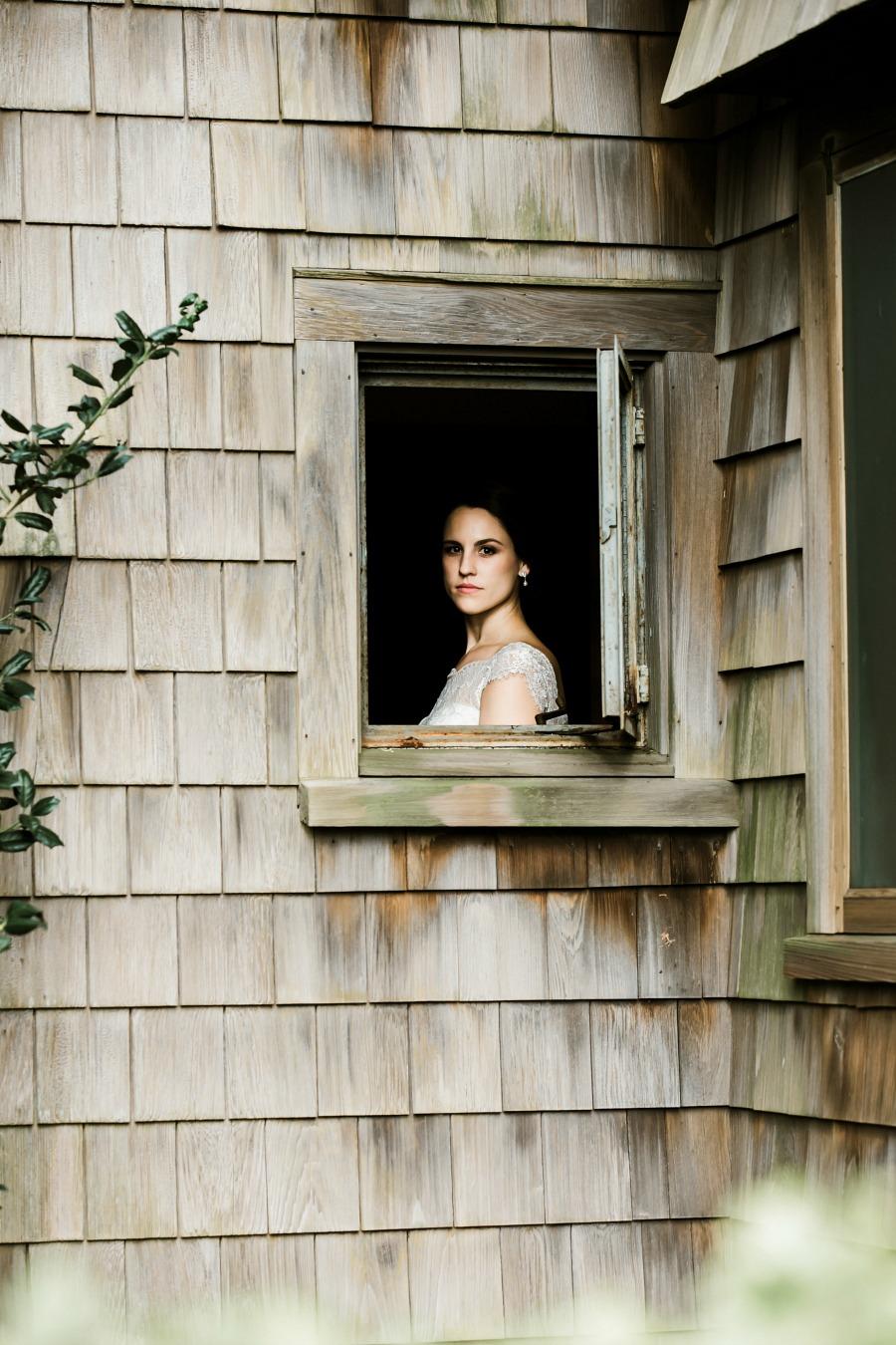 Modern Bridal Portrait in Norfolk Virginia