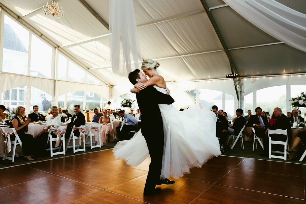 Classic Couple Black Tie Wedding in Virginia