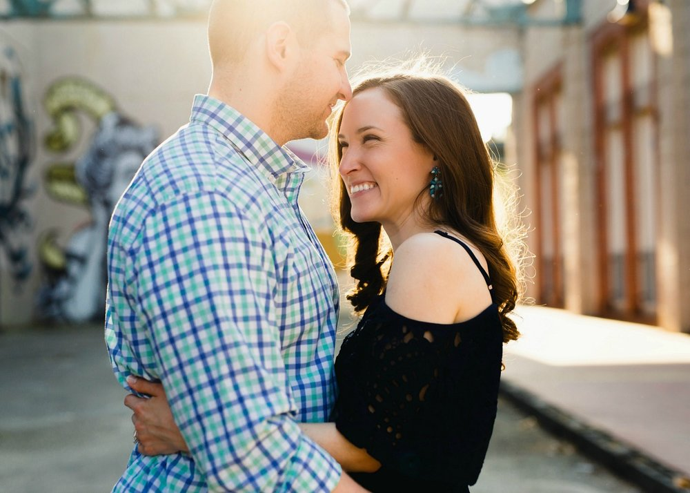 Canal Walk Richmond Virginia Engagement Session