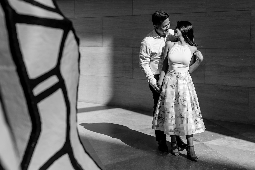 Washington DC Engagement Session Ideas at Smithsonian