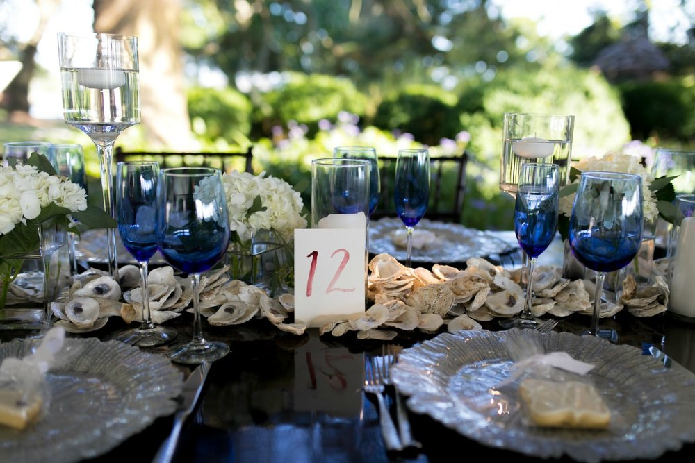 Oyster Shell Table Runner