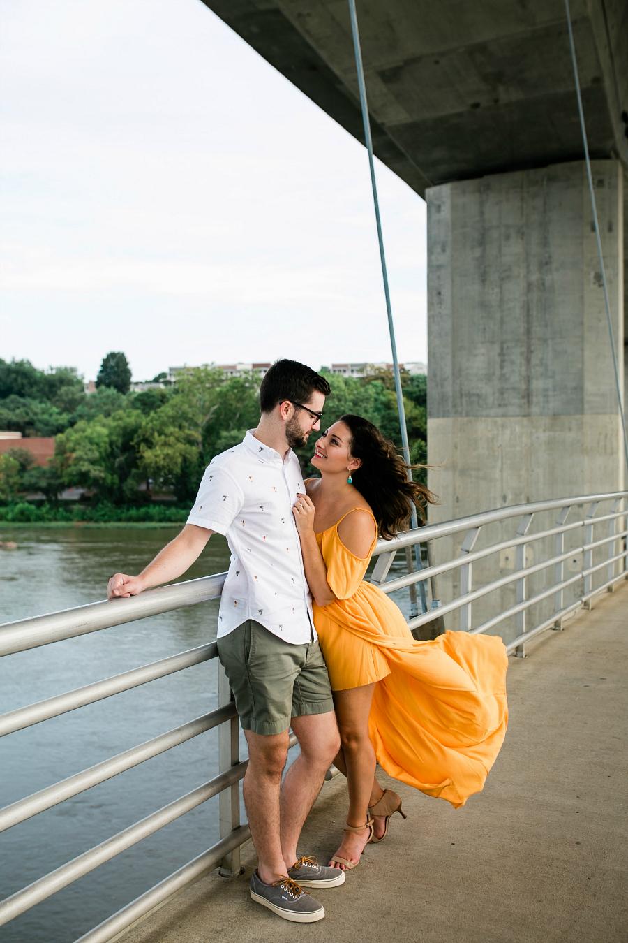 Belle Isle Foot Bridge in Richmond Virginia