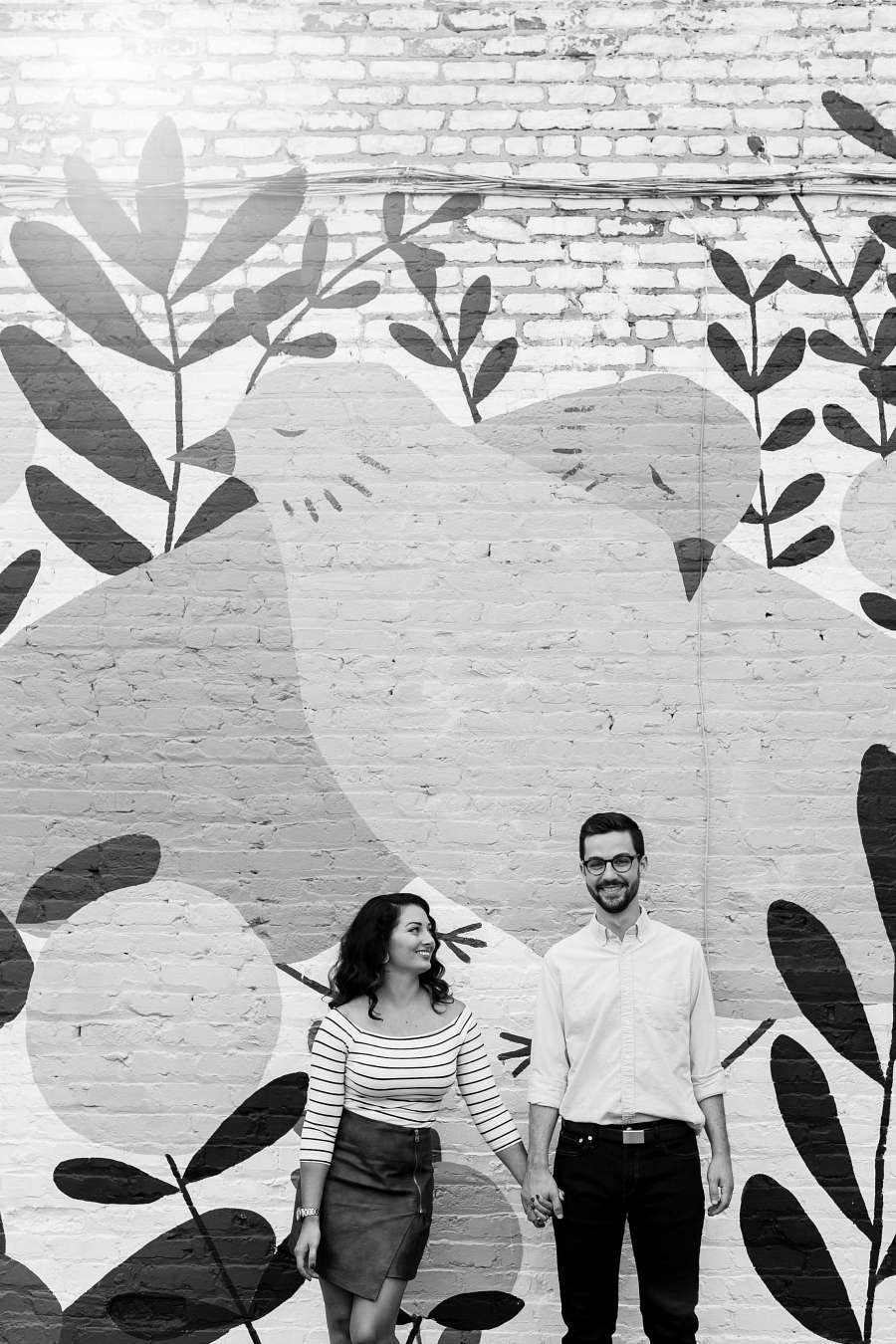 Art in Richmond, VA for Engagement Sessions