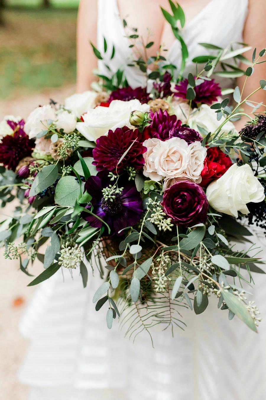 Romantic Bridal Bouquet by Studio Posy
