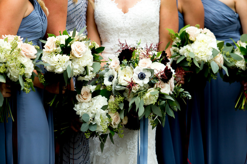 Anenome Floral Bridal Bouquet Inspiration