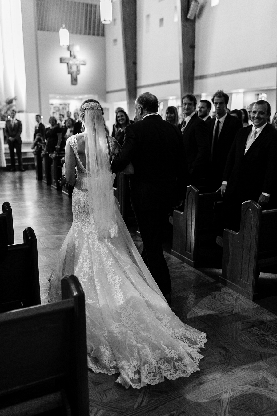 Virginia Wedding Photographers at Norfolk Catholic Church