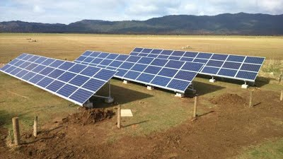 Solar power off the grid