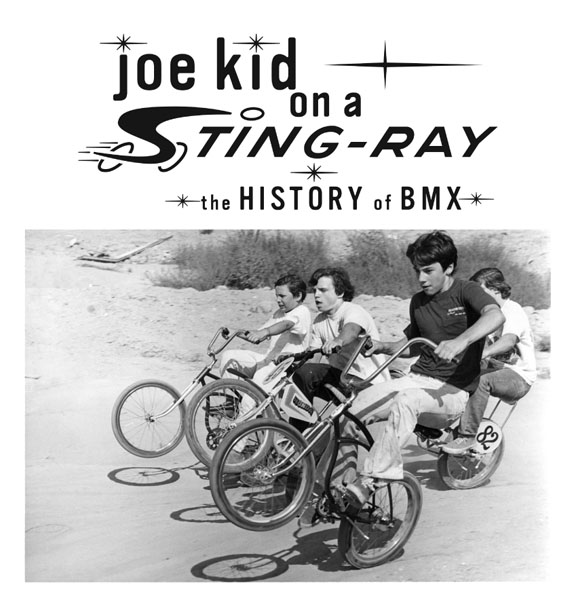 JOE KID ON ASTING-RAY - This documentary is the first film to take a serious look at the history and evolution of BMX bicycle riding. Stompin' Stu is a true story about perhaps the most dominant BMX racer in history, Stu Thomsen. From his battles off the track to his battles on the track, Stompin' Stu is most importantly a film about being inspired.