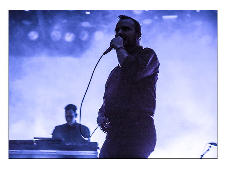 Future Islands at the Fillmore Auditorium - Denver, CO.