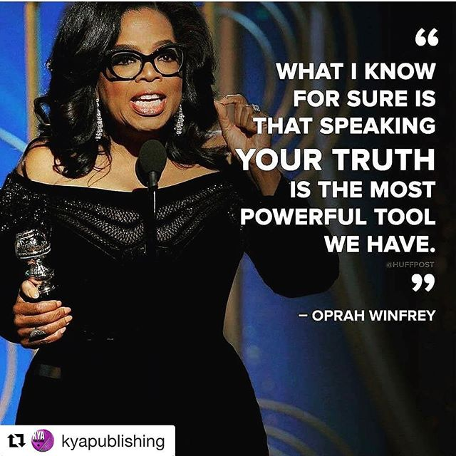 Speaking your truth is the most powerful tool... #oprahgoldenglobes #oprah #lifecoach #lifeguidance #zimzumcc