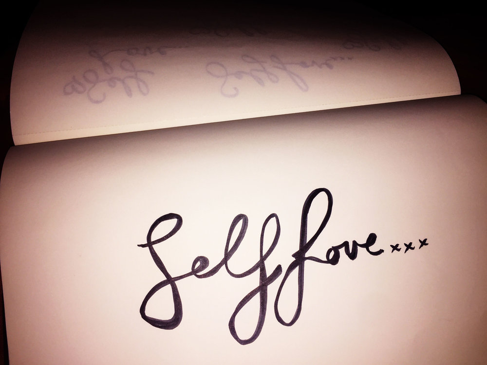 Self-love. Drawing Luke Hockley.