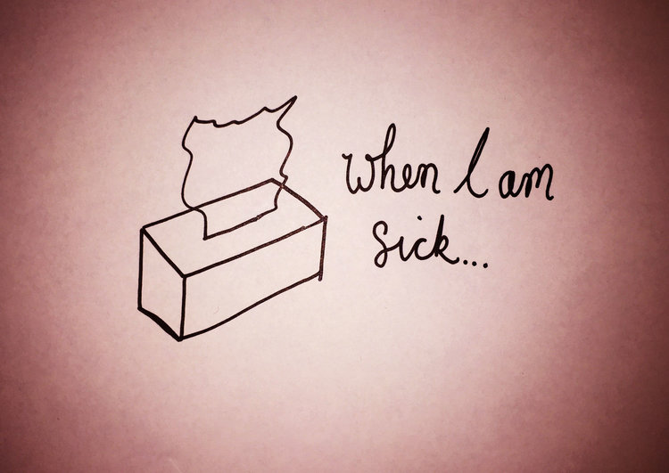 When i am sick luke hockley when i am sick drawing luke hockley altavistaventures Choice Image