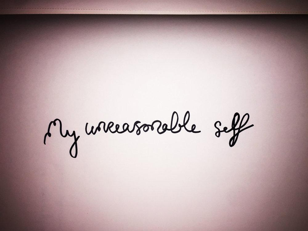 My unreasonable self. Drawing Luke Hockley.