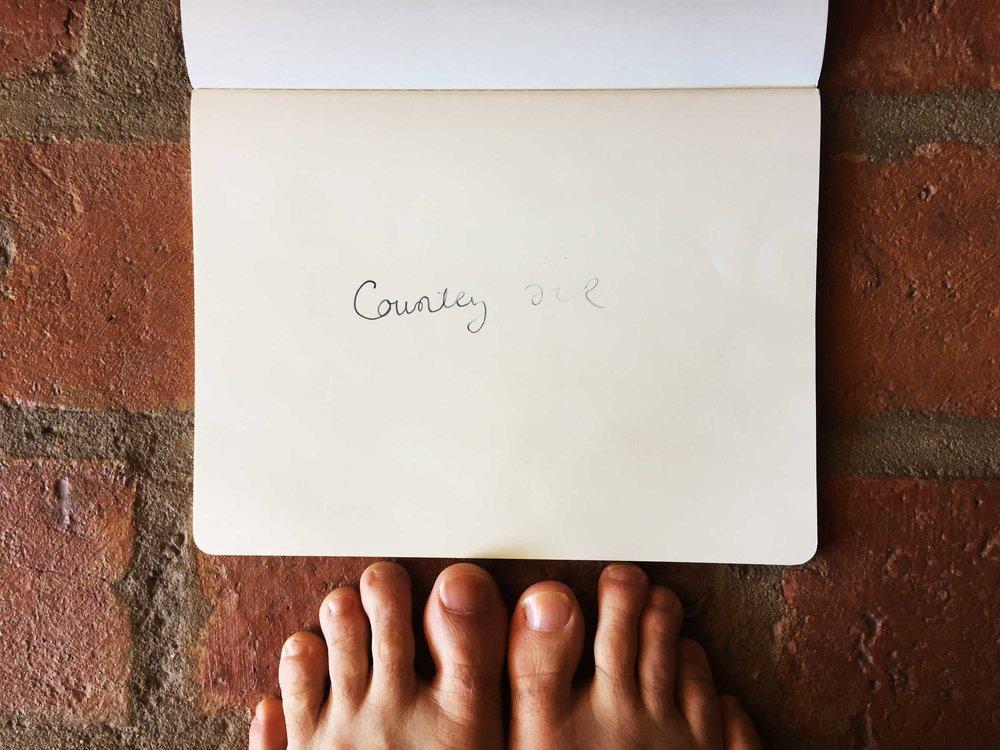 Country air. Drawing Luke Hockley.