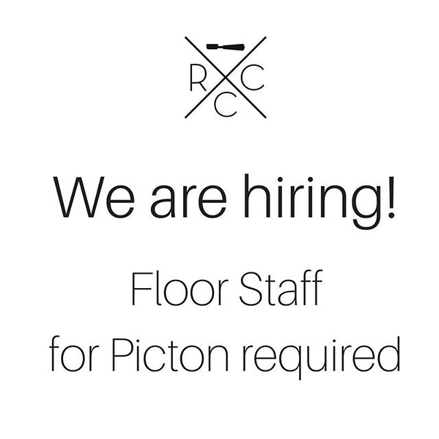 Seeking floor staff for our Picton store :: please email resume to hayley@rcoffeeco.com.au