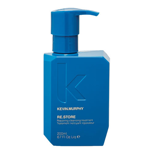 - KEVIN.MURPHY RE.STORE is a cleansing conditioning treatment with superfood proteins naturally bind moisture to reconstruct damaged hair. Amino Acids like Arginine and Lysine, the building blocks of repair, will help to rebuild and restore hair with elasticity, strength and moisture. $54.95