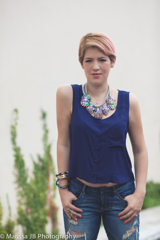 NN Jeans y blusa azul (4 of 8)