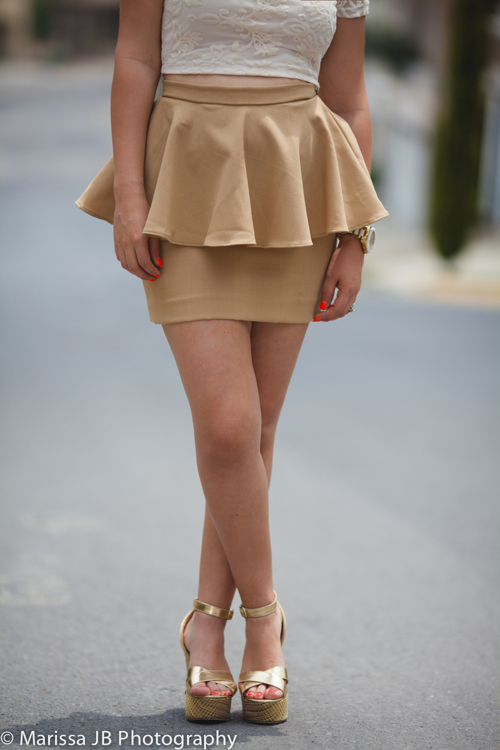 NN Look 6 Falda beige (6 of 8)