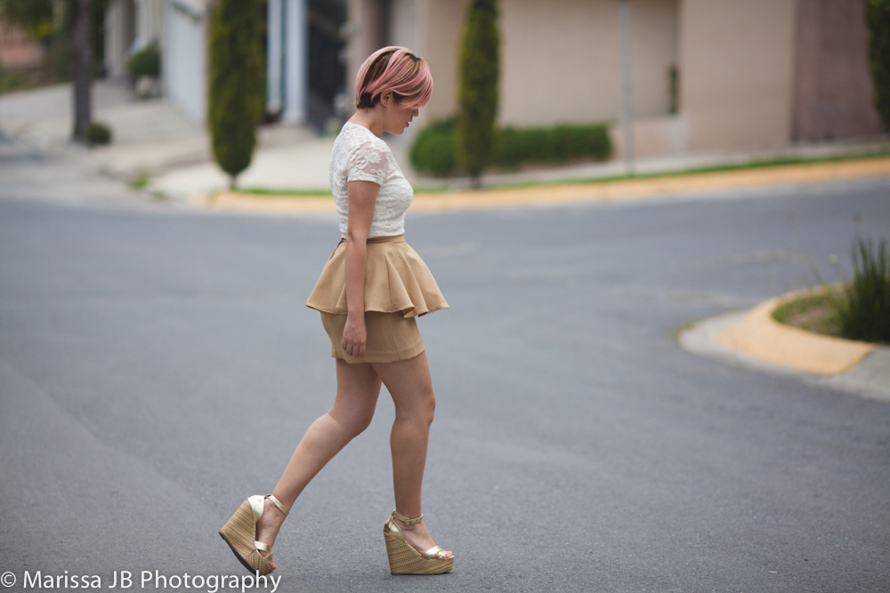 NN Look 6 Falda beige (7 of 8)