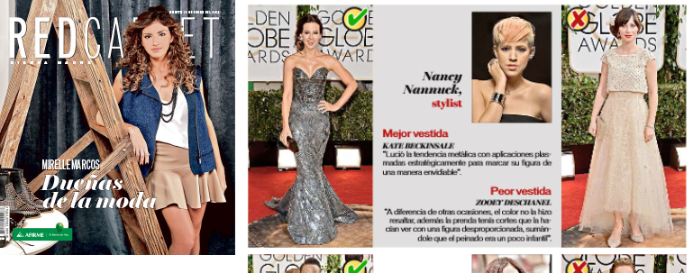 Red Carpet Magazine: Interview Best & Worst Dressed Golden Globes 2014