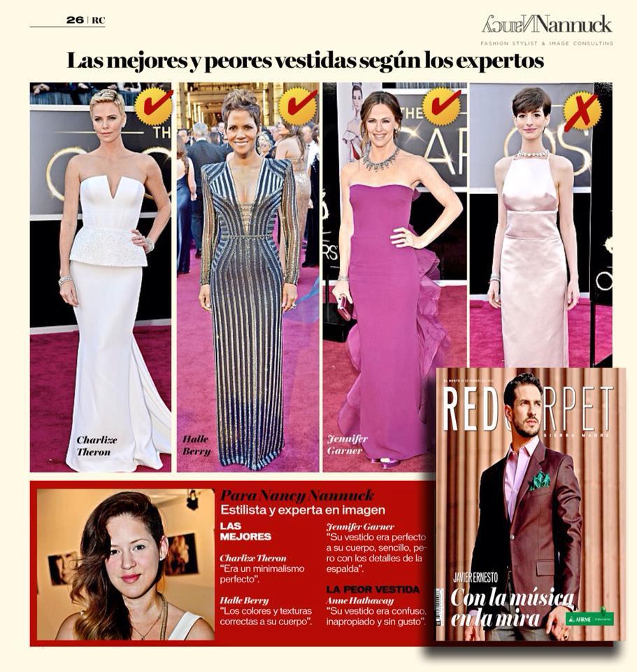 Red Carpet Magazine Interview: Best & Worst Dressed / Oscars 2013