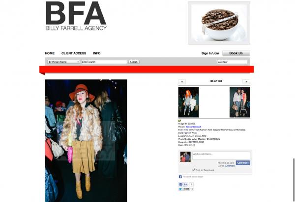 BFA, NY FW2012