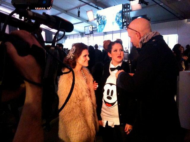 Interview by Robert Verdi, Fashion Week