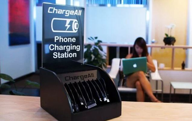"Most charging stations don't come with a ""use at your own risk"" warning. But use them at your own risk."