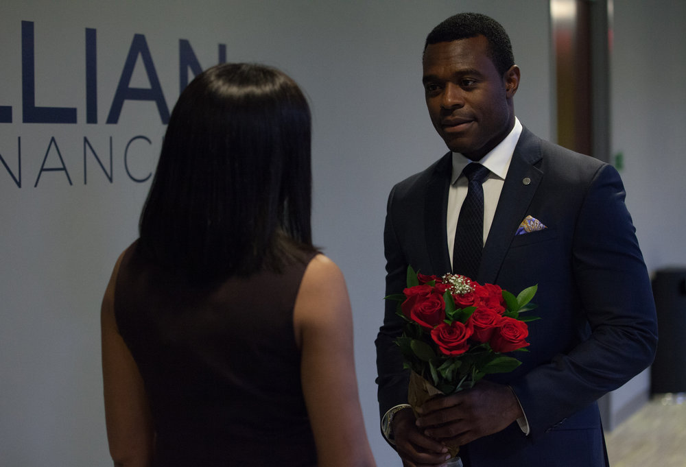"Lyriq Bent as ""Robert"" in ACRIMONY."