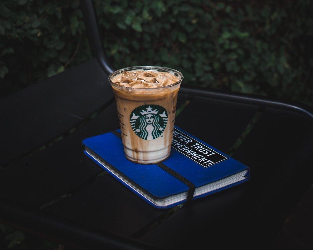 Starbucks isn't just for basic females. Photo by Dimaz Fakhruddin