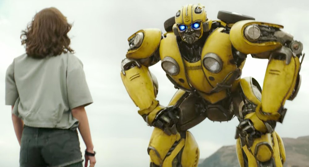 Bumblebee Trailer screen grab
