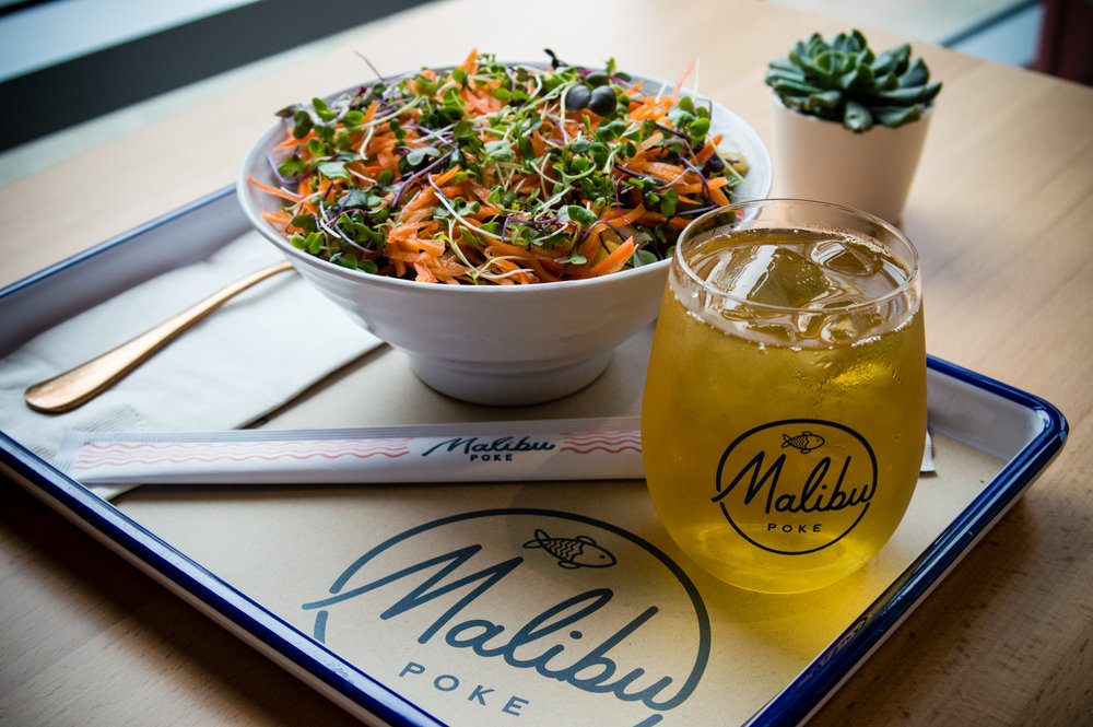 I'm a big fan of the presentation at Malibu Poke. Photos by Nick Bailey