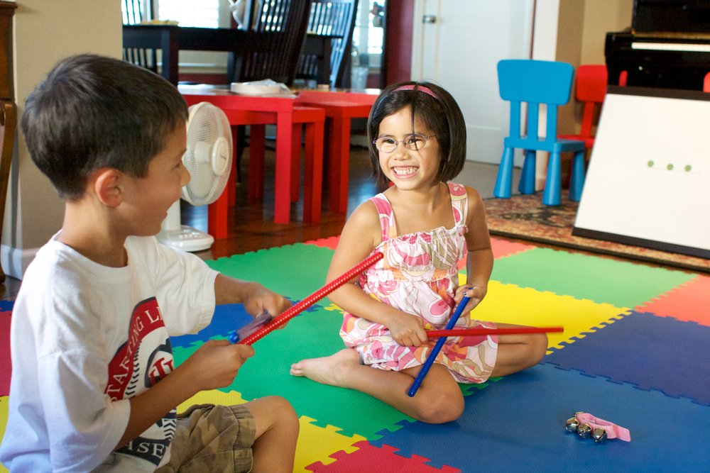 Preschool group classes    Take the Music for Young Children Sunrise program at the studio.