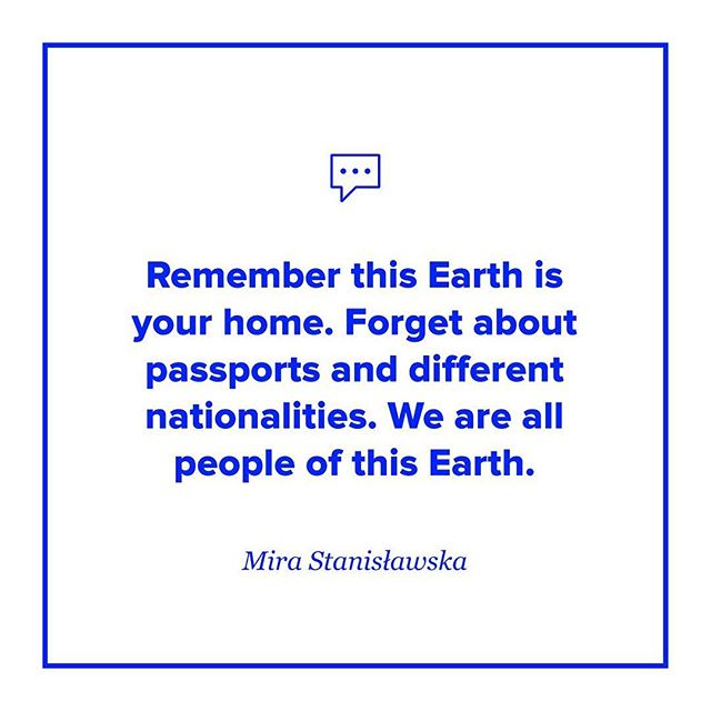 We are all people of this earth. ❤️🌏 . . . . . #birdtalks #sheinspiresme #sheisnotlost #quote #quoteoftheday #dailyinspiration #inspiration #podcast #womenpodcasters #mystory