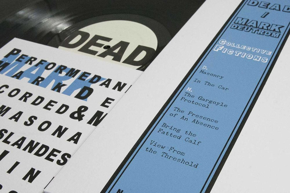 Screen printed LP sleeves by WeEmptyRooms