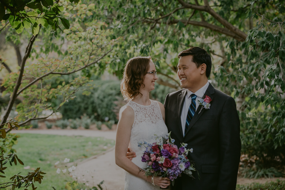 Palo Alto Intimate Wedding -
