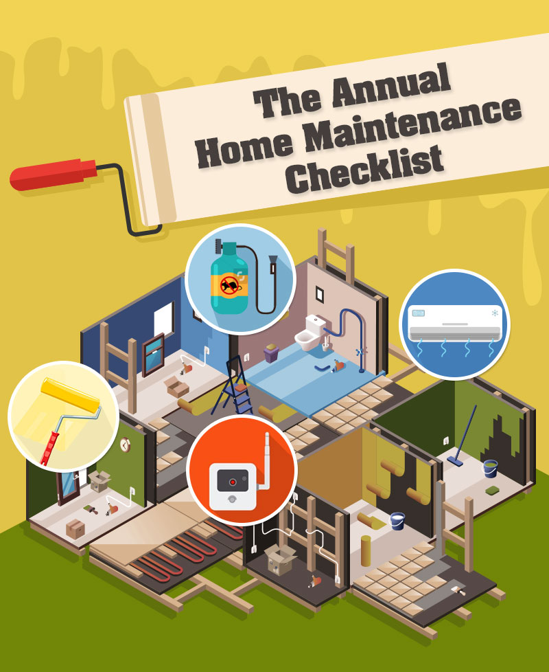 The Annual Home Maintenance Checklist: A Guide For New Homeowners