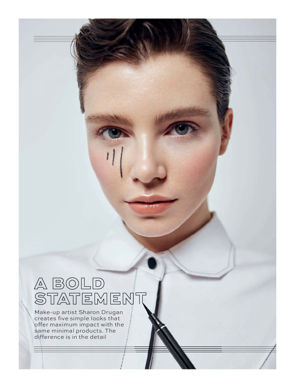 A Bold Statement - Stylist Magazine
