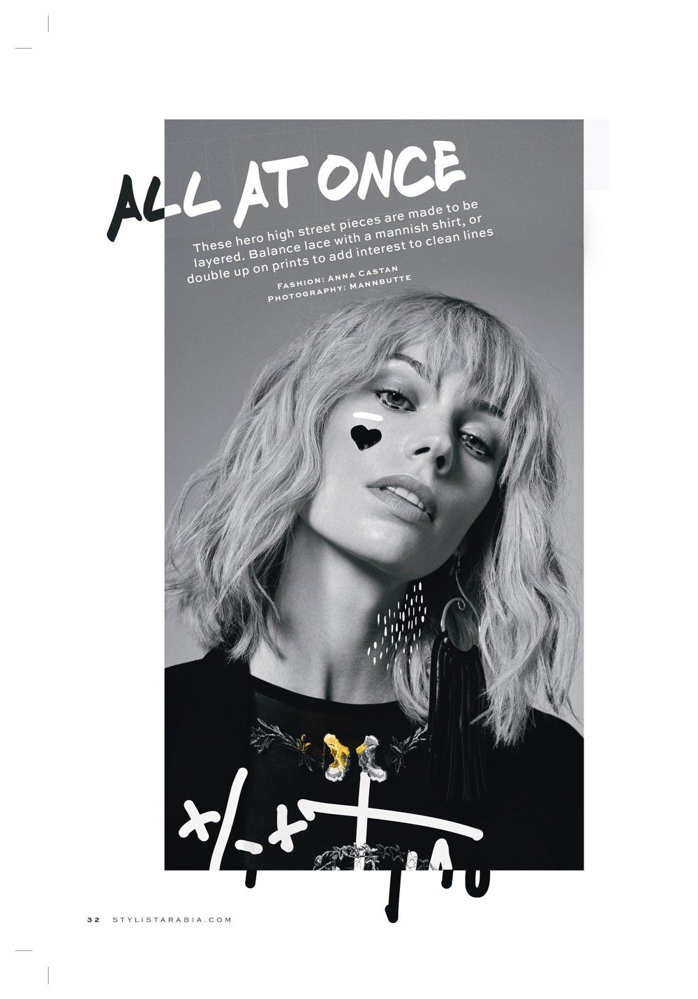 All at Once - Stylist Magazine