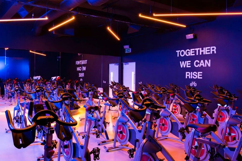 Rise Cycle Spinning Studio on Smithdown Road, Liverpool